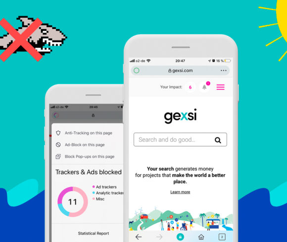 Safeguarding your privacy: The new Gexsi app with anti-tracking